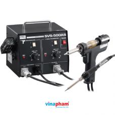 Trạm hàn đa năng tích hợp máy hàn, máy hút thiếc GOOT SVS-500AS