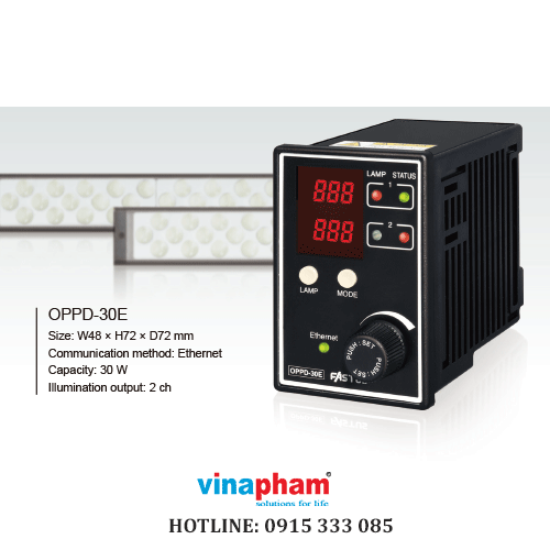 LED Lighting Controller with Ethernet Connectivity OPPD-30 Series