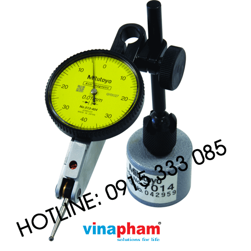 Dial Test Indicator, Horizontal Type 0,8mm, 0,01mm, with Magnetic Stand