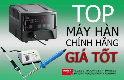 Các loại máy hàn thiếc chính hãng Nhật Bản, giá tốt tại Việt Nam